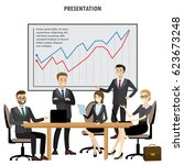 business people group... | Shutterstock .eps vector #623673248