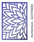 vector laser cut panel. pattern ...   Shutterstock .eps vector #623704682
