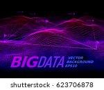 big data. binary code...   Shutterstock .eps vector #623706878