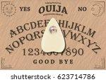 ouija board | Shutterstock .eps vector #623714786