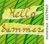 hello summer. abstract...   Shutterstock .eps vector #623759615