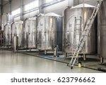 Brewery. Modern Beer Plant Wit...