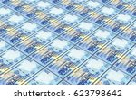 malawi kwacha bills stacked... | Shutterstock . vector #623798642