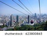 kobe city view from shin kobe... | Shutterstock . vector #623800865