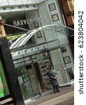 harvey nichols store leeds ...   Shutterstock . vector #623804042