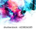 surreal clouds landscape.... | Shutterstock . vector #623826185