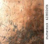 copper grunge background | Shutterstock . vector #623832656