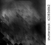 triangle grunge background ... | Shutterstock .eps vector #623836862
