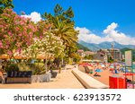 beautiful mediterranean...   Shutterstock . vector #623913572