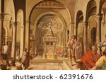 vatican museum  vatican city ... | Shutterstock . vector #62391676