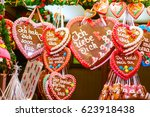 Gingerbread Hearts At German...