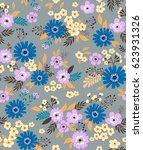 vector seamless pattern. cute...   Shutterstock .eps vector #623931326