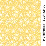 cute floral pattern in the... | Shutterstock .eps vector #623932496