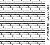 rectangle chaotic seamless... | Shutterstock . vector #623937386