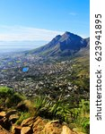 View Of Cape Town Harbor And...