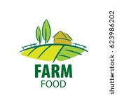logo farm food | Shutterstock .eps vector #623986202