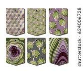 vector set of packaging design...   Shutterstock .eps vector #624006728