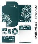 stationery set  eps10 | Shutterstock .eps vector #62400922