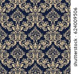 floral pattern. wallpaper... | Shutterstock .eps vector #624009506