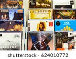 bucharest  romania   april 12 ... | Shutterstock . vector #624010772
