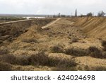 a criminal quarry for the... | Shutterstock . vector #624024698