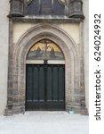 Door Of  The All Saints' Churc...