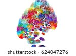 colorful stains | Shutterstock . vector #624047276