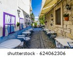 alacati  turkey   april 18 ... | Shutterstock . vector #624062306