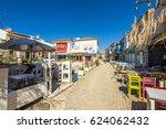 alacati  turkey   april 18 ... | Shutterstock . vector #624062432