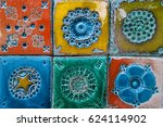 Portuguese Tiles Pattern With...