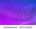 neon lines background with... | Shutterstock .eps vector #624116822