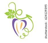 grape seeds heart   Shutterstock .eps vector #624129395