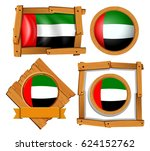 flag icon design for arab... | Shutterstock .eps vector #624152762