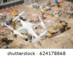 unmanned aircraft system  uav ... | Shutterstock . vector #624178868