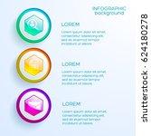 web business infographic... | Shutterstock .eps vector #624180278