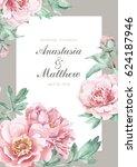 Pink Peonies Wedding Invitatio...