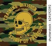 military team  new york...   Shutterstock .eps vector #624192392