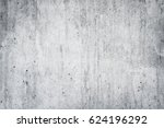 texture of old white concrete... | Shutterstock . vector #624196292