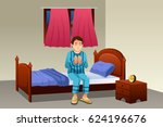 a vector illustration of muslim ... | Shutterstock .eps vector #624196676