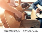masterclass learning to play... | Shutterstock . vector #624207266