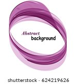 abstract background with purple ... | Shutterstock .eps vector #624219626