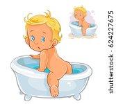 vector illustration of small... | Shutterstock .eps vector #624227675