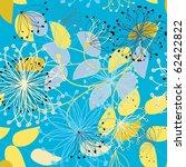 floral seamless pattern | Shutterstock .eps vector #62422822