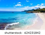 cala moll   beautiful beach at... | Shutterstock . vector #624231842