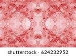 seamless kaleidoscope pattern.... | Shutterstock .eps vector #624232952