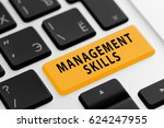 management skills button on... | Shutterstock . vector #624247955