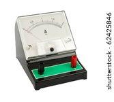 school ampermeter isolated on... | Shutterstock . vector #62425846