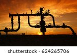 pipes and valves   | Shutterstock . vector #624265706
