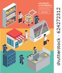 life supermarket   Shutterstock .eps vector #624272312
