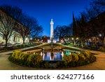 reflection of the washington... | Shutterstock . vector #624277166